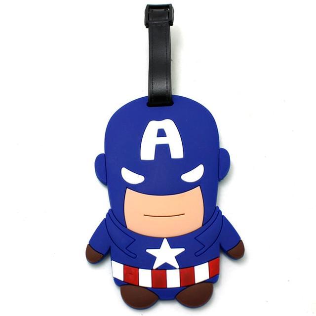 Бирка на чемодан Капитан Америка