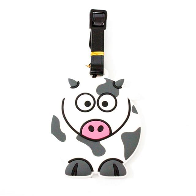 Бирка на чемодан Корова