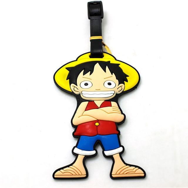 Багажная бирка Мальчик в шляпе
