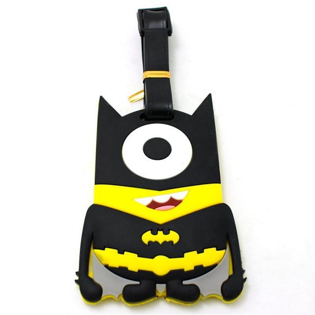 Багажная бирка Миньен Бэтмен