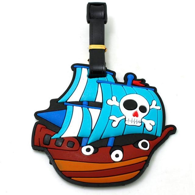 Бирка на чемодан Пиратский корабль