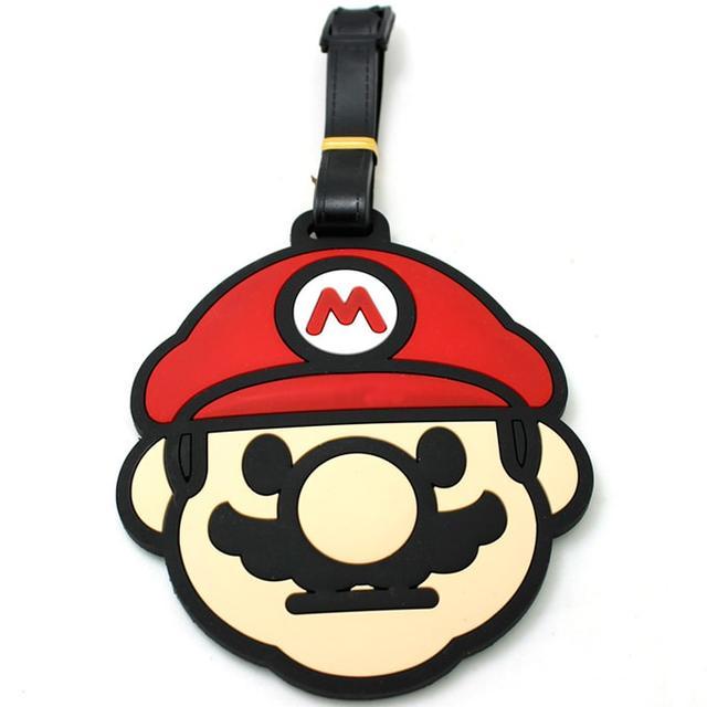 Бирка для багажа Супер Марио