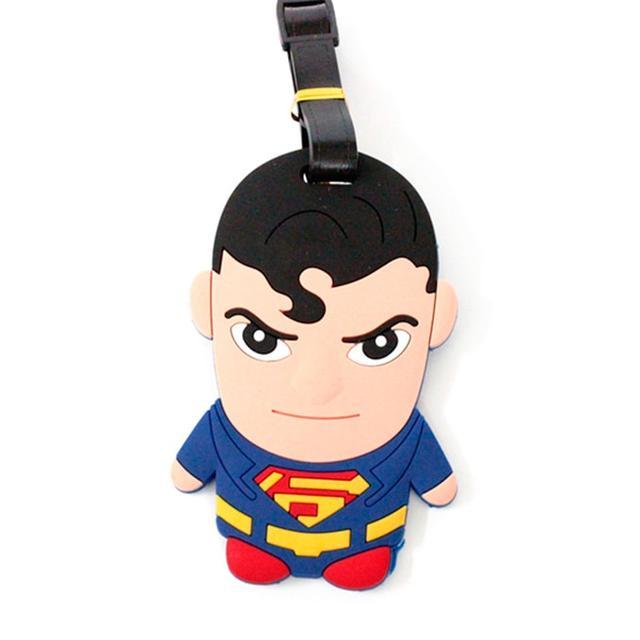 Бирка багажная Супермен