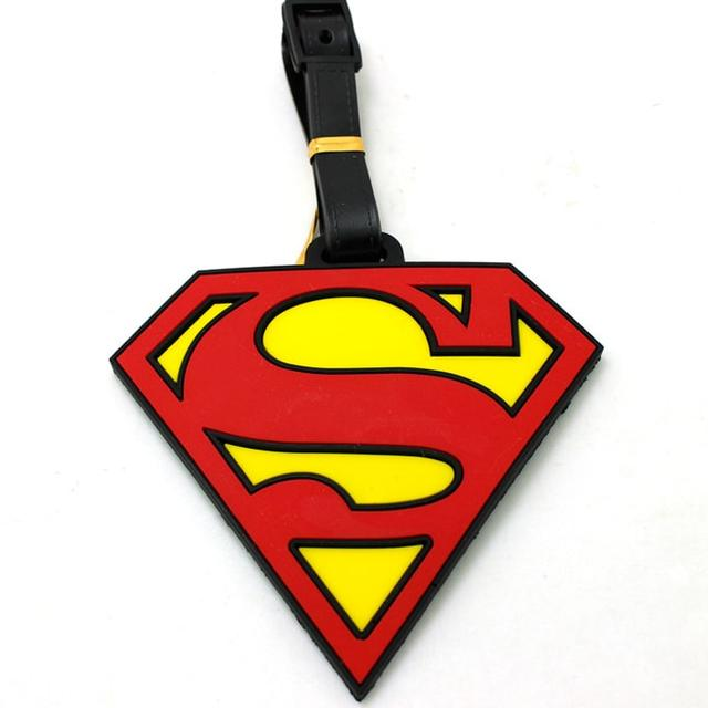Бирка на багаж знак Супермена