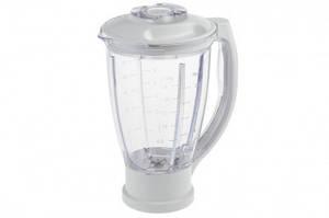 Чаша блендера 1500ml для кухонного комбайна Moulinex XF6341B1 MS-0A13352