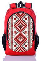 Городской рюкзак с украинским орнаментом