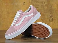 "Женские кеды Vans Old Skool ""Pink"""