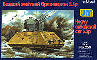Тяжелый зенитный броневагон S.Sp