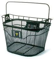 Корзина на руль Topeak Basket Front 16л, мет. сетка, с фикс. F3, черная