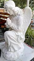 Скульптуры ангелов для памятников. Ангел на памятник 50 см бетон