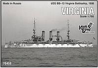 """Эскадренный броненосец """"Виргиния"""""""