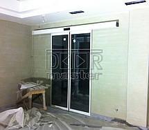 Автоматические двери Farwill ECOslide, Бассейн (г. Запорожье) 11.04.2014