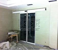 Автоматические двери Farwill ECOslide, Бассейн (г. Запорожье) 11.04.2014 1