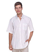 Белая льняная мужская рубашка Amatto geruti