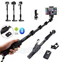 Усиленный монопод для селфи с пультом Bluetooth Yunteng YT-1288 (iPhone и Android)