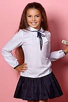 Школьная  блуза  для девочки.128-164р.