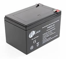 Гелевый аккумулятор 12V 12 ah для детских электромобилей, фото 3