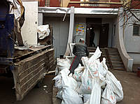 Мешки б/у под строительный мусор.Мешки полипропиленовые.