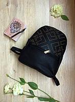 Черный рюкзачок с заклепками, хит 2017 года
