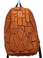 Городской рюкзак Черепашка с вызодом под наушники BW2401 orange