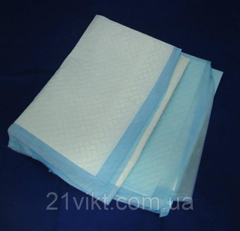 Пеленки впитывающие 40Х60см 25шт. медицинские нестерильные 21VIKT