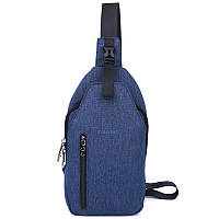 Сумка рюкзак через плечо Tigernu T-S8027 синяя