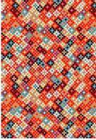 Ковёр Kolibri маленькие квадраты - красный 1.20х1.70 м.