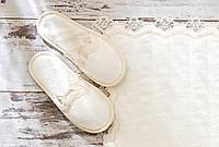 Тапочки банные женские Gül Güler Acelya Cream (37-38 размер)