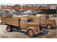 """Наземный транспорт 2МВ, серия 5 """"Немецкие грузовики (ранний и поздний)"""""""