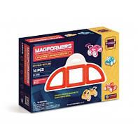 Магнитные конструкторы ТМ Magformers Мой первый красный автомобиль 14 элементов