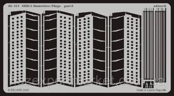 Фототравление 1/48 SBD-3 Донтлес закрылки (рекомендовано для Hasegawa)