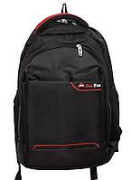 Стильный городской рюкзак DF438 black