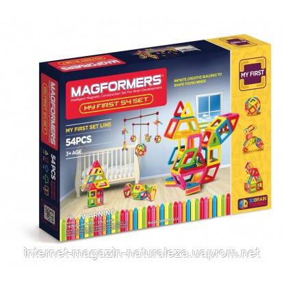 Конструкторы магнитные  Magformers Мой первый набор 54 элемента