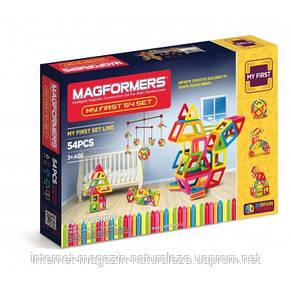 Конструкторы магнитные  Magformers Мой первый набор 54 элемента, фото 2