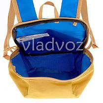 Городской, спортивный рюкзак Arpenaz 10L синий с оранжевым, фото 3