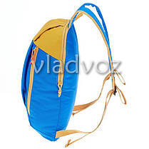 Городской, спортивный рюкзак Arpenaz 10L синий с оранжевым, фото 2