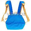 Городской, спортивный рюкзак Arpenaz 10L синий с оранжевым, фото 4