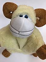 Игрушка-подушка из овечьей шерсти большая