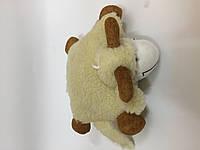 Игрушка-подушка из овечьей шерсти средняя