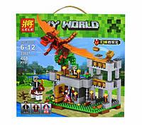 Конструктор Lele серия My World 33027 Красный дракон (аналог Lego Майнкрафт, Minecraft)