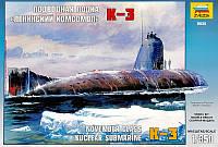 """Подводная лодка """"Ленинский Комсомол"""" К-3"""