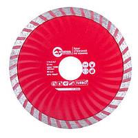 Диск отрезной Turbo, алмазный 115 мм, 22-24% INTERTOOL CT-2006 Intertool
