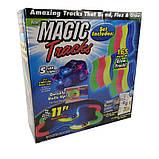 Гоночный трек светящийся Magic Tracks 165 деталей - гоночная трасса, фото 5