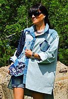 Рубашка женская  джинсовая (№34)