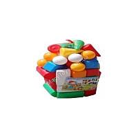 """Кубики строительные """"Сити Лайф"""" 104 малый, сетка 3"""