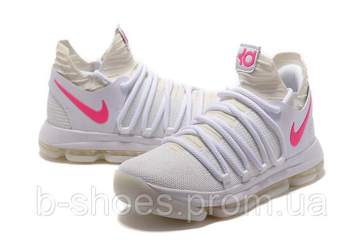 Мужские баскетбольные кроссовки Nike Zoom KD10 EP (Neon White)