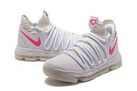 Мужские баскетбольные кроссовки Nike Zoom KD10 EP (Neon White), фото 1