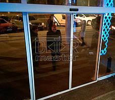 """Автоматические двери Gilgen SLA, РК """"Клуб Місто"""" (г. Харьков) 07.11.2014 1"""