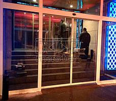 """Автоматические двери Gilgen SLA, РК """"Клуб Місто"""" (г. Харьков) 07.11.2014"""