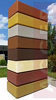 AGGER - LEGO кирпич облицовочный, рядовой цветной м150 (250х125х65)